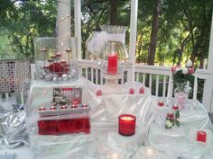 Wedding shower party helps brides-to-be save $$! Thanks Cara Kokel #PartyLite #candles