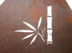 bamboo stencil -