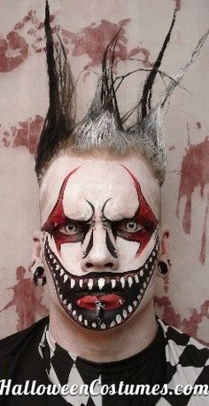 Halloween makeup - Halloween Costumes 2013 #clowns #sfxmakeup #specialeffects #halloween #halloweenmakeup #fxmakeup #sfx #mua #makeupartist #specialfxmakeup #specialeffectsmakeup #Halloweenmakeup #specialfx #unwoundFX -See the rest at Unwound FX - http://www.unwoundfx.com Pinterest Board: http://www.pinterest.com/michaelsweigart/my-sfx-makeup-work/ #ZOMBIES #undead #zombie #zombiemakeup #undead #zombies #zombiemask #zombiemakeup #walkingdead #thewalkingdead #livingdead #corpse #dead #death