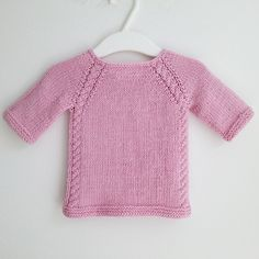 6 months to 6 years. Pattern here: http://knittingmoments.com/product/sweetie-pie