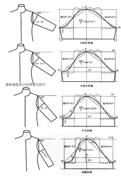 sleeves. basic construction drafting