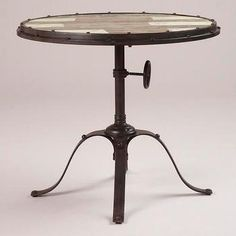 Hughes Industrial Accent Table - World Market