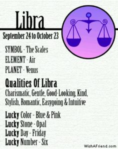 libra horoscope today luck