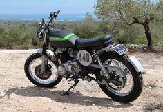 Mon scrambler Kawasaki