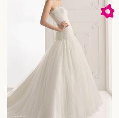 Vestido de noiva com corpo baixo
