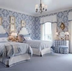 blue rooms with white trim - Yahoo Image Search Results