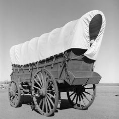 The covered wagon, also known as a prairie schooner, Although covered wagons were commonly used for transporting goods within the US, in the mid-19th century thousands of Americans took them across the Great Plains from developed parts of the Midwest to places in the West such as California, Oregon, Colorado, and Montana.