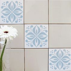 Mibo Tile Tattoos In Ventor French Blue
