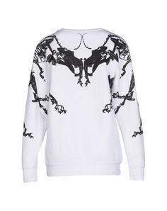 MARCELO BURLON Sweatshirt. #marceloburlon #cloth #dress #top #skirt #pant #coat #jacket #jecket #beachwear #