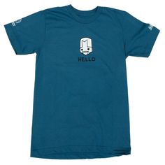 #CastleCrashers Hello Knight t-shirt. Show your love for blue knight!