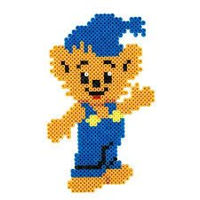 Bildresultat för skalman pärlor Hama Beads Design, Hama Beads Patterns, Beading Patterns, Crochet Patterns, Bead Crafts, Diy And Crafts, Brick Stitch, Creative Kids, Perler Beads