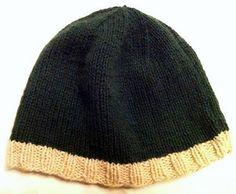 Cappellino a maglia in Lamora.