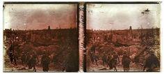 Fotógrafo compra câmera e encontra imagens da Primeira Guerra: Fotografia da Primeira Guerra encontrada pelo fotógrafo Chris A. Hughes (Foto: Chris A. Hughes)