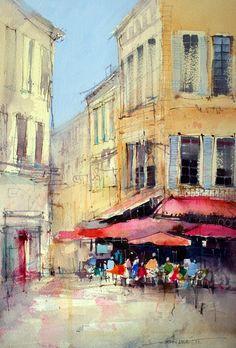 John Lovett, watercolour. #watercolor jd