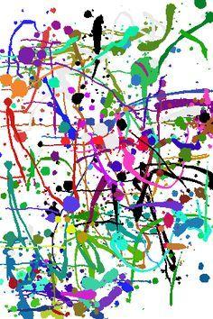 Informalismo. pintura sígnico-gestual. Jackson Pollock. colori, mondi, tracce, casualità, incontri, prevedibilità e casualità ... (la pittura, che non nasce per descrivere un evento, ma ai miei occhi lo fa, è di jackson pollock)
