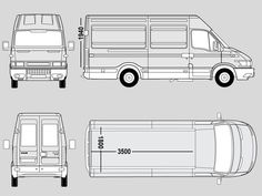 iveco daily mwb dimensions - Google Search