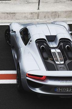 Porsche 918 Spyder #cars