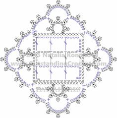 Outstanding Crochet: Free Crochet Chart Reading Tutorial - Step-by-Step Photos and Charts. Part 1.