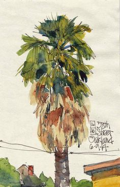 Urban Sketchers S.F. Bay Area: 16 Trees