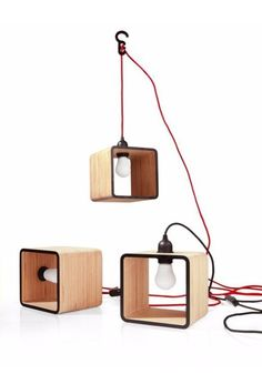 LAMPANIA Indirect light plywood pendant #lamp by @tabanda