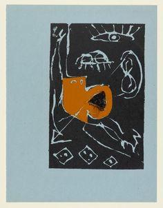 Jackson Pollock. Untitled. c. 1943–44 Screenprint jr