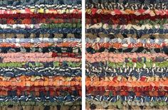 Locker Hooking Tutorial: Make a Rug From Recycled Men's Shirts