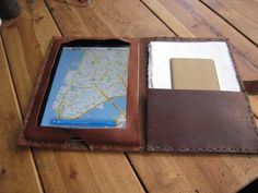 iPad case from Luscious Leather NYC