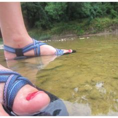 River + Chacos