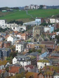 West Hill in Hastings, England. There used to be a wonderful little coffee shop on the hill with the best banoffee pie on earth. Oh how I miss that place.