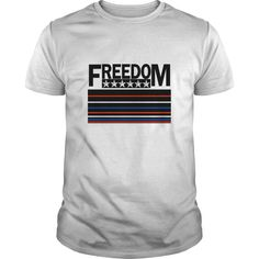 Freedom The Land of the Free T-Shirts, Hoodies. SHOPPING NOW ==► https://www.sunfrog.com/Political/Freedom--The-Land-of-the-Free-White-Guys.html?id=41382