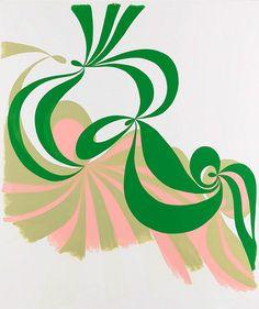 Pink and green + Malene Landgreen.