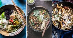 The ultimate in easy suppers, and with minimal washing up, create comfort in a pan with these fast and filling one-pot recipes. From hearty beef stews with glugs of Guinness to sausage cassoulet and slow-cooked vegetarian delights, throw all your ingredients in one pan and enjoy these fuss free dishes.