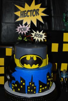 Batman cake by Robin Sims