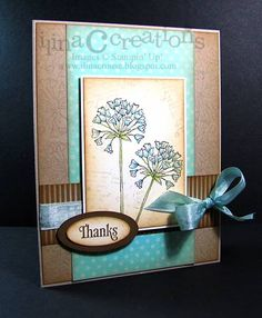 Simply Soft Thanks by ilinacrouse - Cards and Paper Crafts at Splitcoaststampers