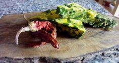 Tortilla de espinacas frescas - Frittata di spinaci - Fresh spinach omelette recipe. italian food, italian recipe, cocina italiana, comida italiana