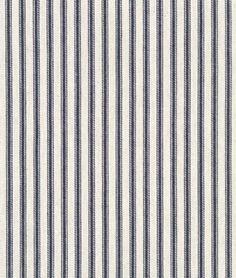 "Shop  47"" ACA Blue Ticking Fabric at onlinefabricstore.net for $4.95/ Yard. Best Price & Service."