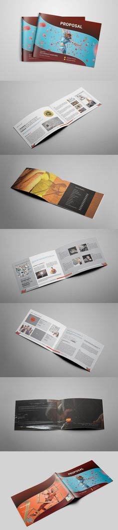 Modern Project Proposal Invoice Template Indesign Indd 12 Pages