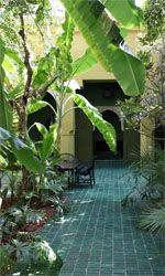 Le Jardin, perfectly located betwenn all four PureRiads properties
