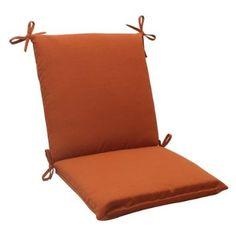 Orange Patio Chairs allen + roth high-back chair cushion | *decor > seat & sofa