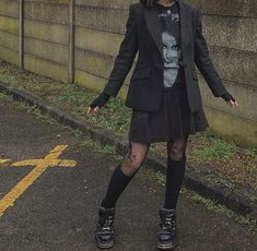 Grunge Outfits, Grunge Fashion, Look Fashion, Fashion Outfits, Alternative Outfits, Alternative Fashion, Aesthetic Fashion, Aesthetic Clothes, Looks Style