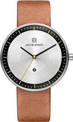 Jacob Jensen Jacob Jensen Strata Mens Brown Watch 271 Montre bracelet Homme, Cuir, couleur: marron Jacob Jensen http://www.amazon.fr/dp/B00LHUM4WY/ref=cm_sw_r_pi_dp_c1Pbvb05Q9FS7