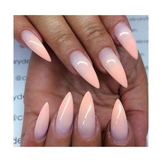 30 Creative Stiletto Nail Designs ❤ liked on Polyvore featuring nails
