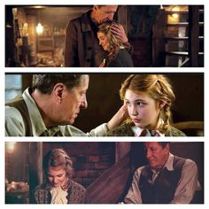 The Book Thief. Liesel and Hans father daughter moments.