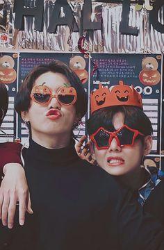 Foto Bts, Foto Jungkook, Bts Taehyung, Bts Bangtan Boy, Bts Jimin, Taekook, Photo Kawaii, Kpop, Helloween Party