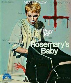 Horror Movie Poster Art : Rosemary's Baby 1968 by Mario Frias