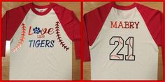 Photo on Circle of Friends Crafts: Baseball Shirts