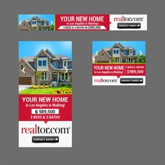 Banner Ads for National Real Estate Website by SJain1979