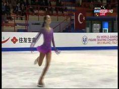 Julia Lipnitskaya - 2013 World Junior Championships - LP