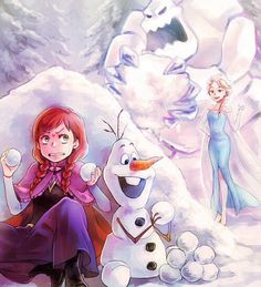 a snowball fight with elsa would be a nightmare Frozen Art, Frozen And Tangled, Disney Frozen, Play Frozen, Frozen Stuff, Disney Fan Art, Disney Love, Disney Magic, Disney Stuff