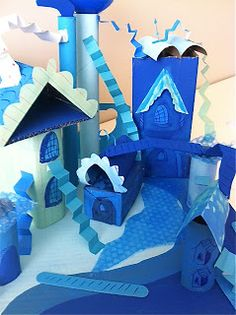 Dr. Seuss City - can have students create Seuss city using paper -2 dimensionally.